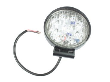 LAMPA ROBOCZA OKRĄGŁA DIODOWA 9xLED 0076