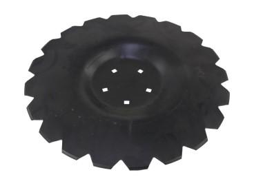 TALERZ UZĘBIONY, FI510mm 5 otworów na AU/362