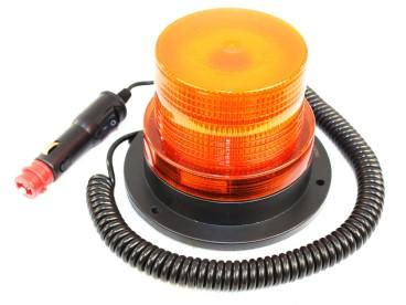 LAMPA BŁYSKOWA LED 12V NA MAGNES L0009-ALR