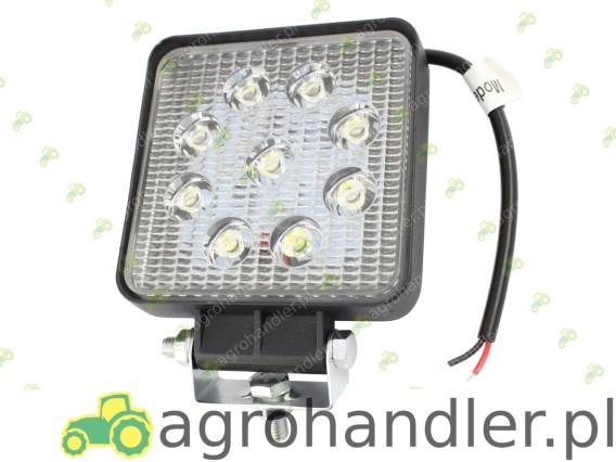 LAMPA ROBOCZA 12/24V 9 LED KWADRATOWA TT.13217 172858