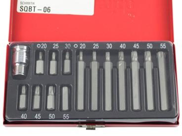 KOMPLET KLUCZY TORX 15szt. SQBT-06