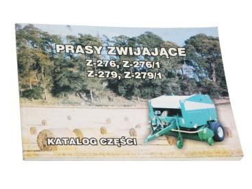 KATALOG SIPMA Z-276 PRASA ROLUJĄCA