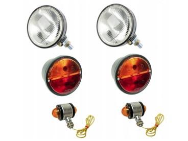 KOMPLET ZESTAW LAMP C330 330 LAMPY URSUS 000270