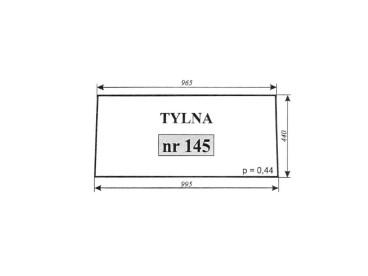 SZYBA C-360 TYLNA NR 145