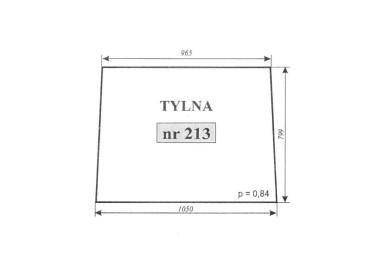 SZYBA TYLNA C-362 213