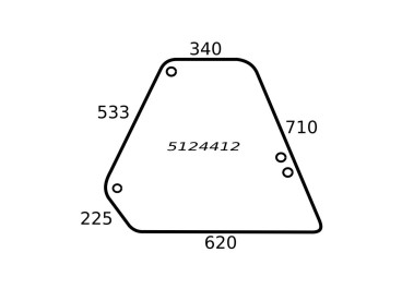 SZYBA BOCZNA FIAT 5124412 650885721