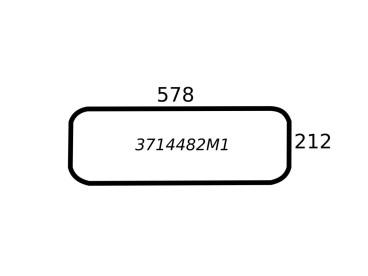SZYBA TYLNA DOLNA MASSEY FERGUSON 3714482M1