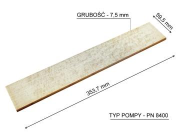 ŁOPATKA POMPY JUROP PN 84 4050990124